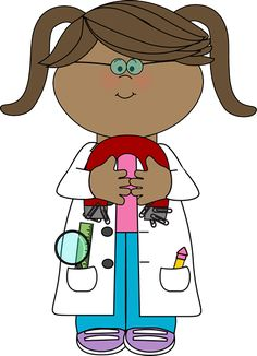 Kid Scientist with a Magnet with a Magnet