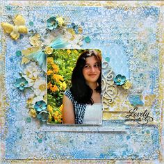 The Scrapbook Store - Blue Fern Frolic Collection - Cathy Cafun