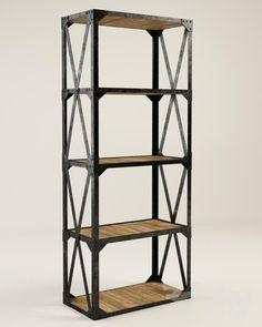 GRAMERCY HOME - TOWER BOOKSHELF 502.001