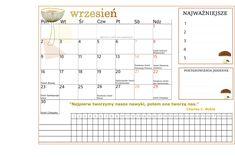 Organizuj i planuj i pobieraj nasze kalendarze :) How To Plan, Words, Horse