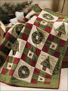 Ideas patchwork para la Navidad. (pág. 2) | Aprender manualidades es facilisimo.com