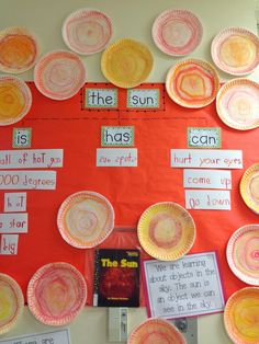 Chalk Talk: A Kindergarten Blog: The Sun