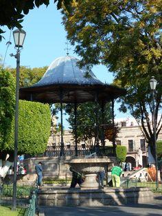 Plaza de Armas, Morelia Michoacán.