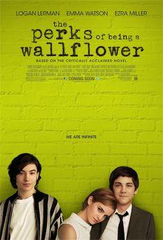 The Perks Of Being A Wallflower - #Poster americano  #EmmaWatson #LoganLerman #EzraMiller #Film #Cinema