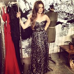 Rooting for VMA red carpet host Holland to wear this dress!!