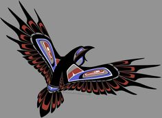 Nankil'slas by Leewano on deviantART   Haida Raven Spirit