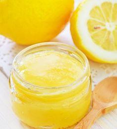 Peeling selber machen: fruchtiges Zitronenpeeling für strahlende Haut #Wellness #diy