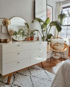 Home Decor Bedroom Awesome 36 Top Minimalist Bedroom Decoration Ideas For Tiny Home Design. Decor Bedroom Awesome 36 Top Minimalist Bedroom Decoration Ideas For Tiny Home Design. Bedroom Plants Decor, Boho Bedroom Decor, Boho Room, Room Ideas Bedroom, Home Bedroom, Plant Decor, Bedroom Designs, Urban Bedroom, Bedroom Rugs