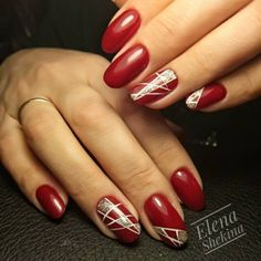 Top 150 Red Nail Art Ideas for women