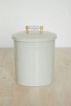 Pretty ceramic toilet brush holder bathroom makeover for White ceramic bathroom bin