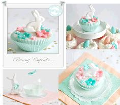 Fondant Bunny cake toppers. Baking Cookie Cutters Baking, DIY, handmade, craft idea