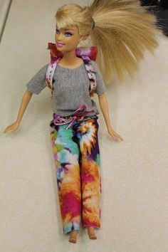 My Creative Mommy: Making Barbie Doll Clothes