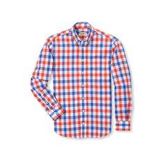 Gitman Brothers Summer Large Plaid Shirt