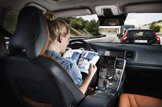Volvo Fears Human Drivers Will Bully Driverless Cars
