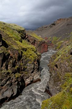 Hike the Laugavegur trail in Iceland