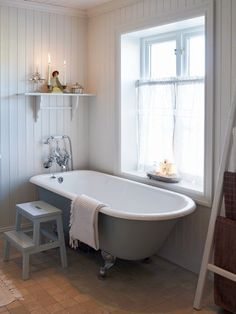 Steps up to the bath for small people, and for me to sit on (with glass of wine in hand) during bathtime.
