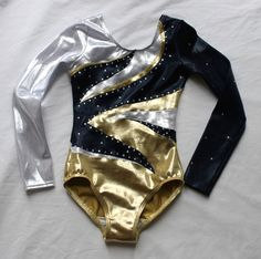 Eclipse - Girls Long sleeve competition leotard by Lilachelene