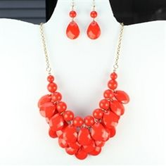 AMAZING prices on statement necklaces! Get them for HALF of what department stores charge! Shop at www.TheTrendyJewelryShop.com and get FREE shipping on all orders over $10!