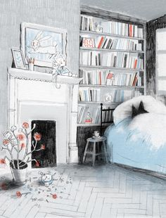 Perogies & Gyoza: Interview with Isabelle Arsenault, illustrator of Virginia Wolf