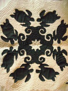 hawaiian turtle quilt