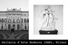 GAM - Modern Art Gallery in Milan.