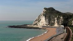 Panorama of Shakespeare Cliff and English Channel, Dover, UK Library Of Congress Photos, White Cliffs Of Dover, Continental Europe, English Channel, Victorian Photos, Air Show, Shakespeare, First Photo, Geology