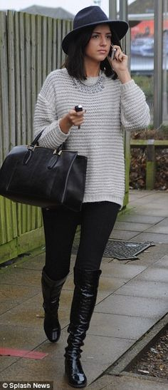 Lucy Mecklenburgh Looking Cool
