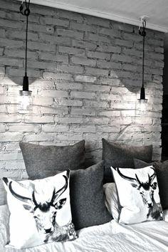 tolle wandgestaltung wohnideen wandfarben grau schlafzimmerwand