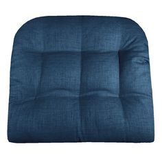 Rave Pacific Blue Indoor / Outdoor Dining Chair Pads & Patio Cushions
