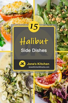 We love this fish, but what to serve with halibut is another story altogether. Take a look and pick from this delish list of side dishes for your special dinner tonight. Fish Sides, Side Dishes For Fish, Dishes To Go, Dinner Side Dishes, Summer Side Dishes, Best Side Dishes, Dinner Sides, Healthy Side Dishes, Healthy Foods
