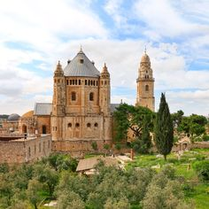 Abbey of the Dormition - Jerusalem, Israel