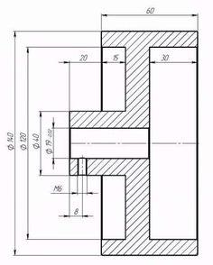 Приводной ролик для гриндера (алюминиевый) D-140мм Знаменка - изображение 2