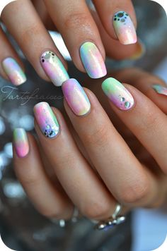 Nail-Art by 'Tartofraises' #nail #nails #nailart ♥༺❤༻♥