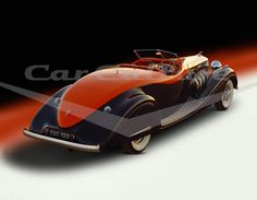 Duesenberg Model SJ Roadster Gurney Nutting - Limited Edition Fine Art Print