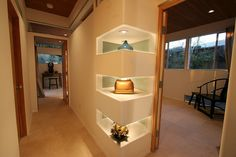 recessed wall niche ideas | shelves carved from walls | Flickr - Photo Sharing!