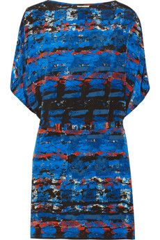 Issa Printed silk mini dress | THE OUTNET