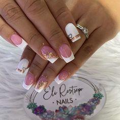 Nail Salon Design, Bae, Nail Designs, Nail Art, Nails, Beauty, Feet Nails, Pretty Gel Nails, French Tips