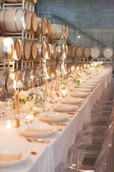 Gorgeous wedding reception idea; photo: Silvana Di Franco