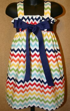 Riley Blake Multi Color Chevron fabric  ..  by abushelandapeckbiz, $28.00
