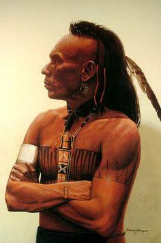 Native American Mohawk  http://en.wikipedia.org/wiki/Mahican