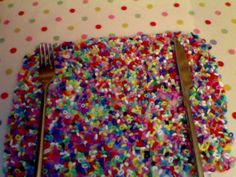I hope you like my placemat! It is made from melting beads (known as perler or hama beads). I put a load on a baking tray and put them in the oven at gas mark 6 for 10 minutes (only 5 in the picture- had 2 put it back in the oven cos I wasn't satisfied with it then...) and VOILA! A very colourful, unique place mat. Why not try a colour theme. I wanted to do that but got too inpatient counting out the certain colours. Have a go yourself and post any questions.    #crafts  #craft  #melted…