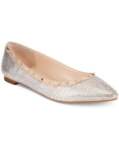 INC International Concepts Women's Zabbie Pointed-Toe Flats, Only at Macy's