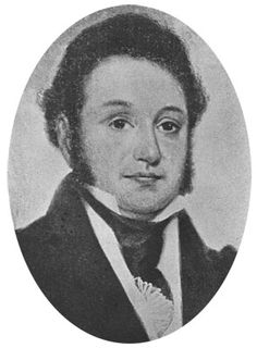 Lorenzo de Zavala was born in Mexico in 1789 and came to Texas in 1835. He was an empresario and influential figure who signed the Mexican Constitution of 1824, was Governor of the State of Mexico in 1827 and 1833, and was Mexico's ambassador to France from 1833-1835. In 1835, he also served as a representative to the Consultation and was Vice-President of the interim government of Texas. He died at home in November 1836.