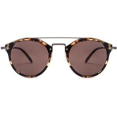 Oliver Peoples Remick Sunglasses ($420) ❤ liked on Polyvore featuring accessories, eyewear, sunglasses, glasses, sunnies, acetate glasses, lens glasses, oliver peoples eyewear, engraved glasses and oliver peoples