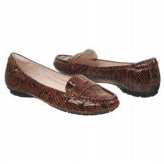 Rockport Etty Keeper Moc Shoes (Toffee/Black) - Women's Shoes - 6.5 W