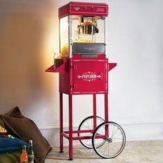 Fancy | Waring Popcorn Machine & Trolley