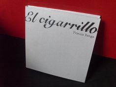 """prelibro, poema """"el cigarrillo"""""""