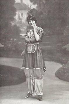 Robe at chapeau par Jeanne Lanvin, 1913