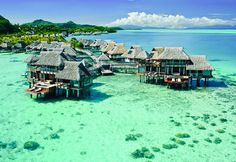Conrad Bora Bora Nui offers 5 star luxury rooms and suites. Enjoy your stay at this upscale Bora Bora hotel. Best Places To Honeymoon, Honeymoon Spots, Honeymoon Destinations, Vacation Spots, Places To Travel, Places To Visit, Romantic Destinations, Affordable Honeymoon, Honeymoon Ideas