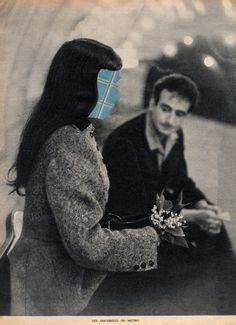 #paper #collage #analog #illustration #art # postcard #design #handmade #lovers #love `#couple
